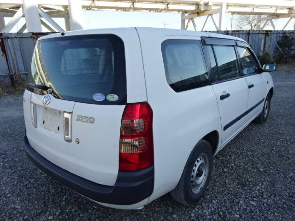 Used 2009 AT Toyota Succeed Van NCP51V Image[2]