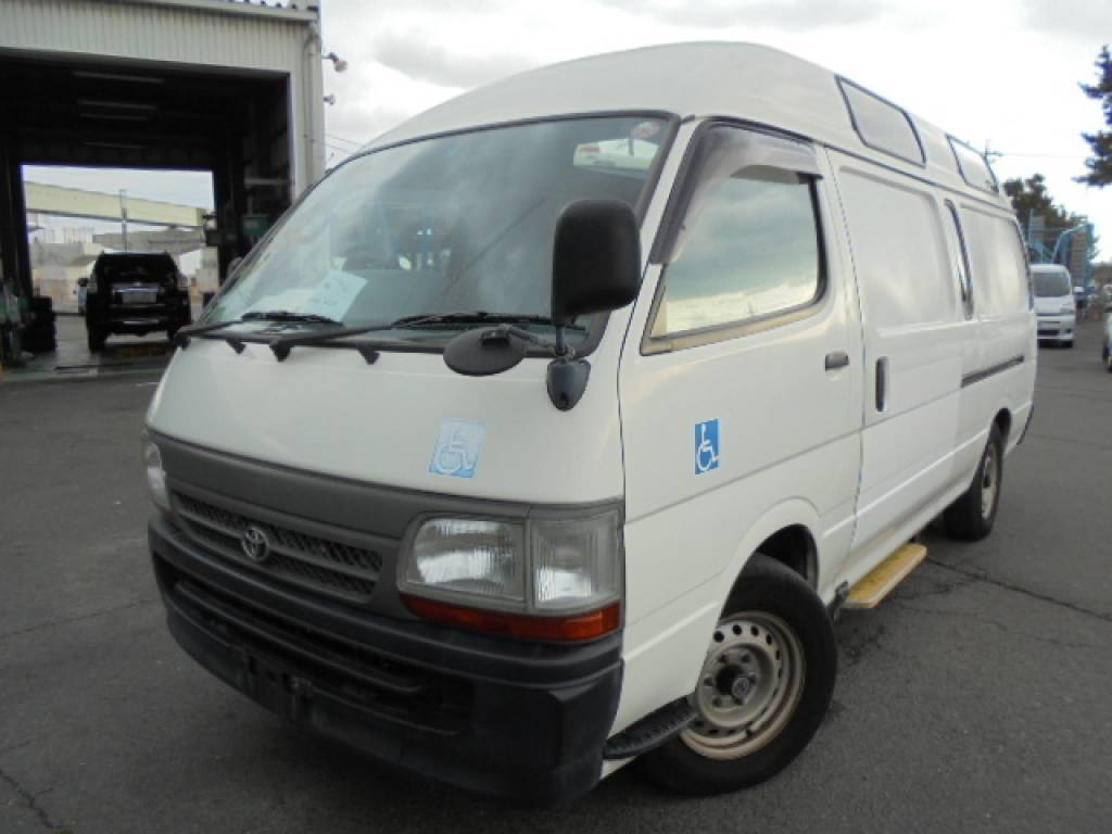 Used 2003 AT Toyota Hiace Commuter TRH124-0001694