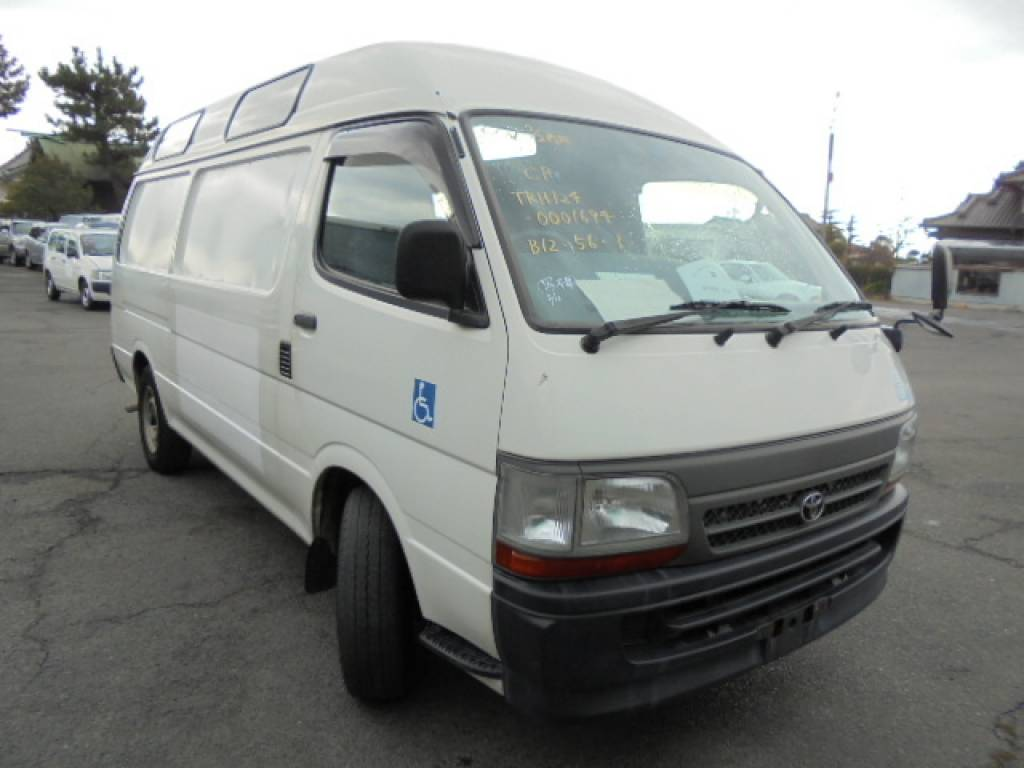 Used 2003 AT Toyota Hiace Commuter TRH124-0001694 Image[1]