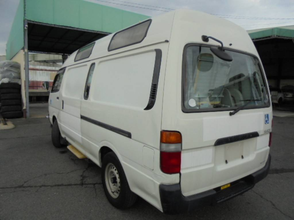 Used 2003 AT Toyota Hiace Commuter TRH124-0001694 Image[2]