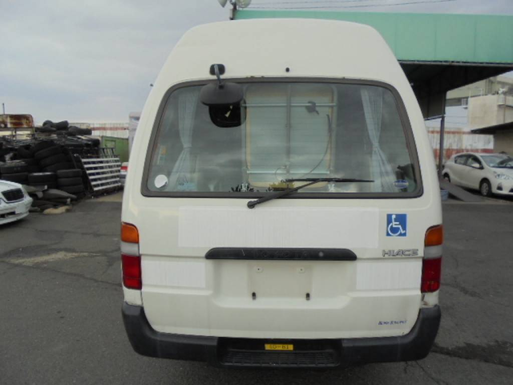 Used 2003 AT Toyota Hiace Commuter TRH124-0001694 Image[5]