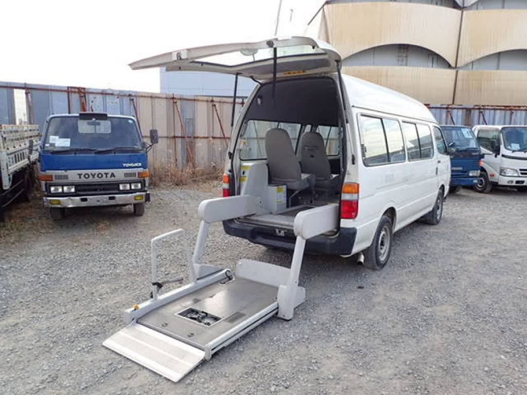 Used 2002 AT Toyota Hiace Commuter RZH125B Image[12]