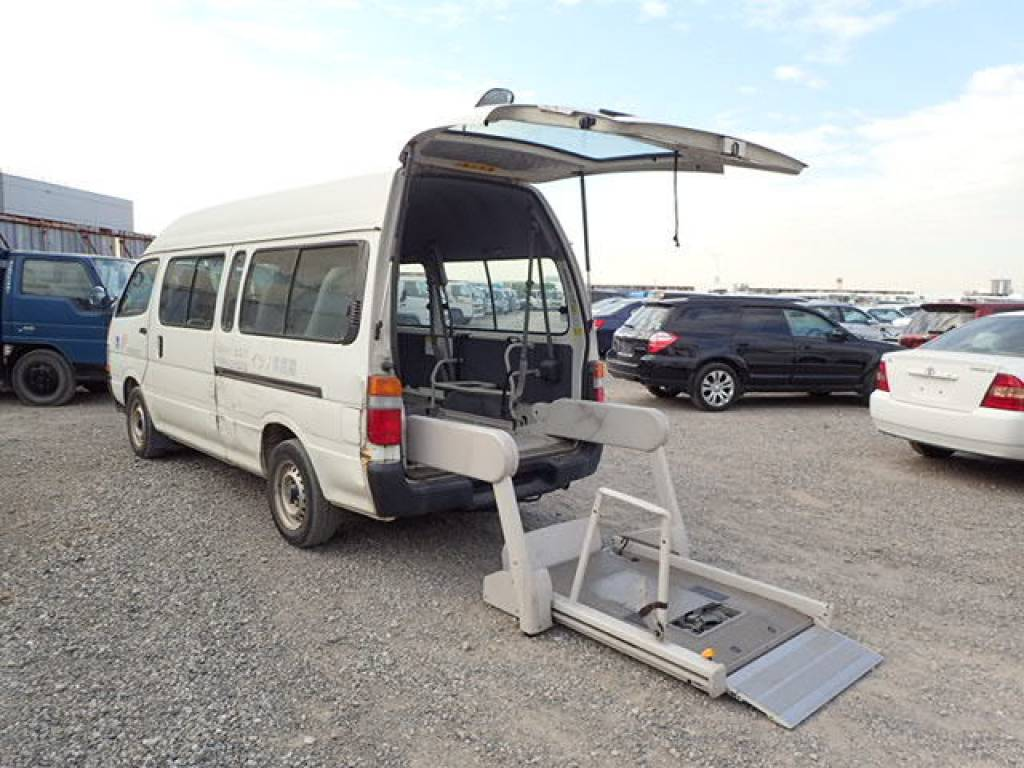 Used 2002 AT Toyota Hiace Commuter RZH125B Image[13]