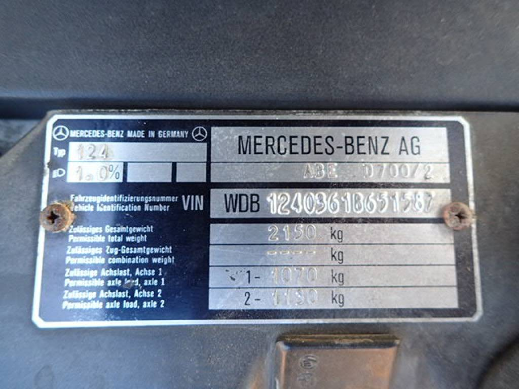 Used 1995 AT Mercedes Benz E-Class 124036 Image[30]