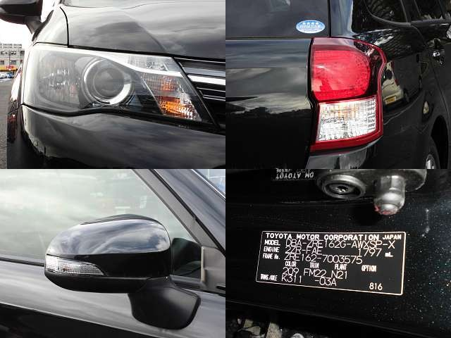 Used 2013 AT Toyota Corolla Fielder DBA-ZRE162G Image[7]