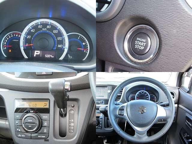 Used 2013 AT Suzuki Wagon R DBA-MH34S Image[4]