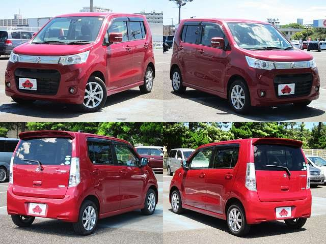 Used 2013 AT Suzuki Wagon R DBA-MH34S Image[9]