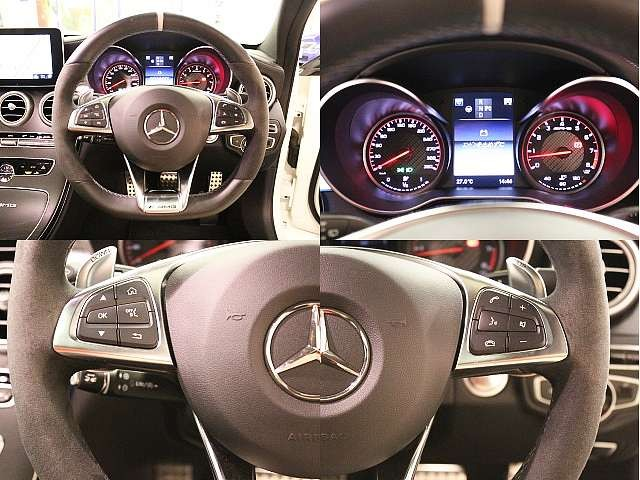 Used 2015 AT Mercedes Benz C-Class CBA-205287 Image[4]