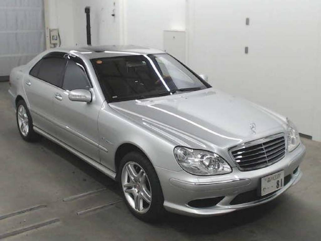 Used 2004 AT Mercedes Benz S-Class 220174