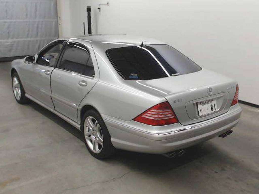 Used 2004 AT Mercedes Benz S-Class 220174 Image[1]