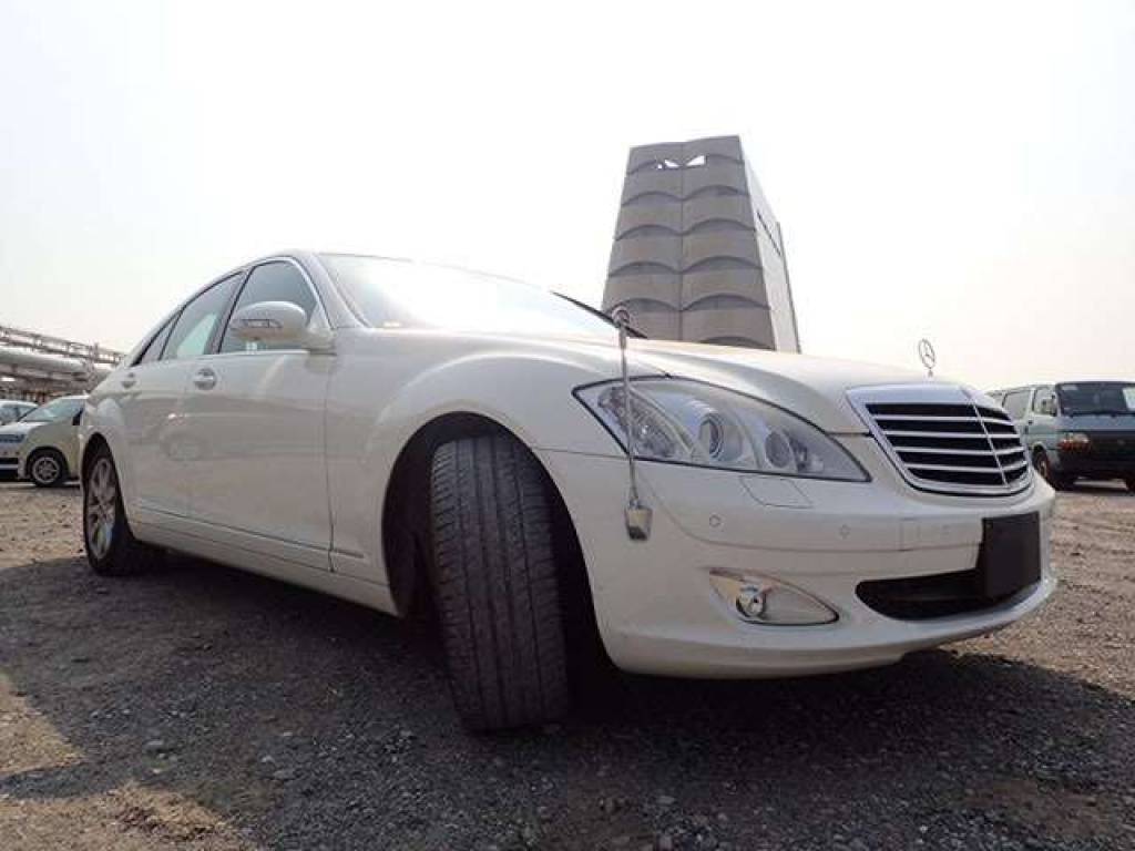 Used 2006 AT Mercedes Benz S-Class 221056 Image[1]