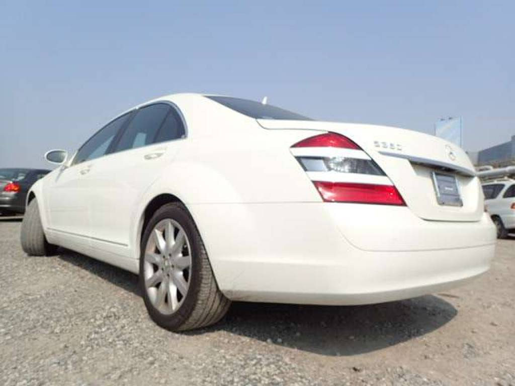 Used 2006 AT Mercedes Benz S-Class 221056 Image[2]