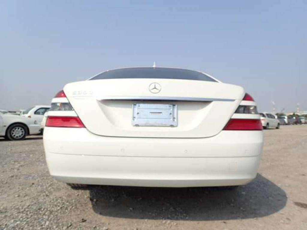 Used 2006 AT Mercedes Benz S-Class 221056 Image[3]