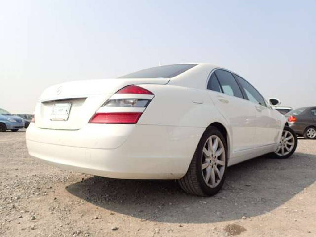 Used 2006 AT Mercedes Benz S-Class 221056 Image[4]