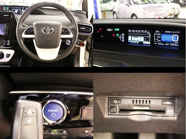 Used 2016 CVT Toyota Prius DAA-ZVW50 Image[4]