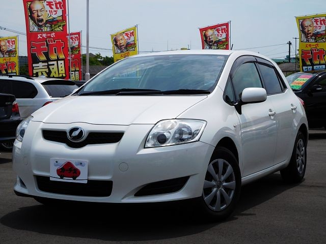 Used 2009 CVT Toyota Auris DBA-NZE151H