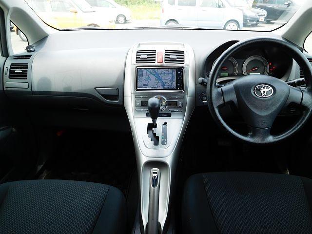 Used 2009 CVT Toyota Auris DBA-NZE151H Image[1]