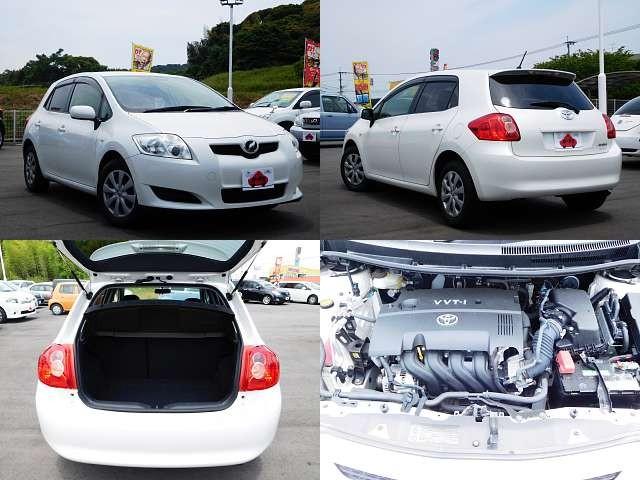 Used 2009 CVT Toyota Auris DBA-NZE151H Image[9]