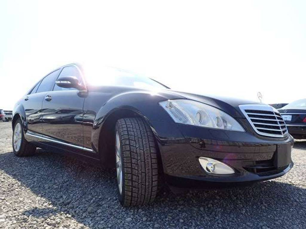 mercedes detail at used s class sedan benz