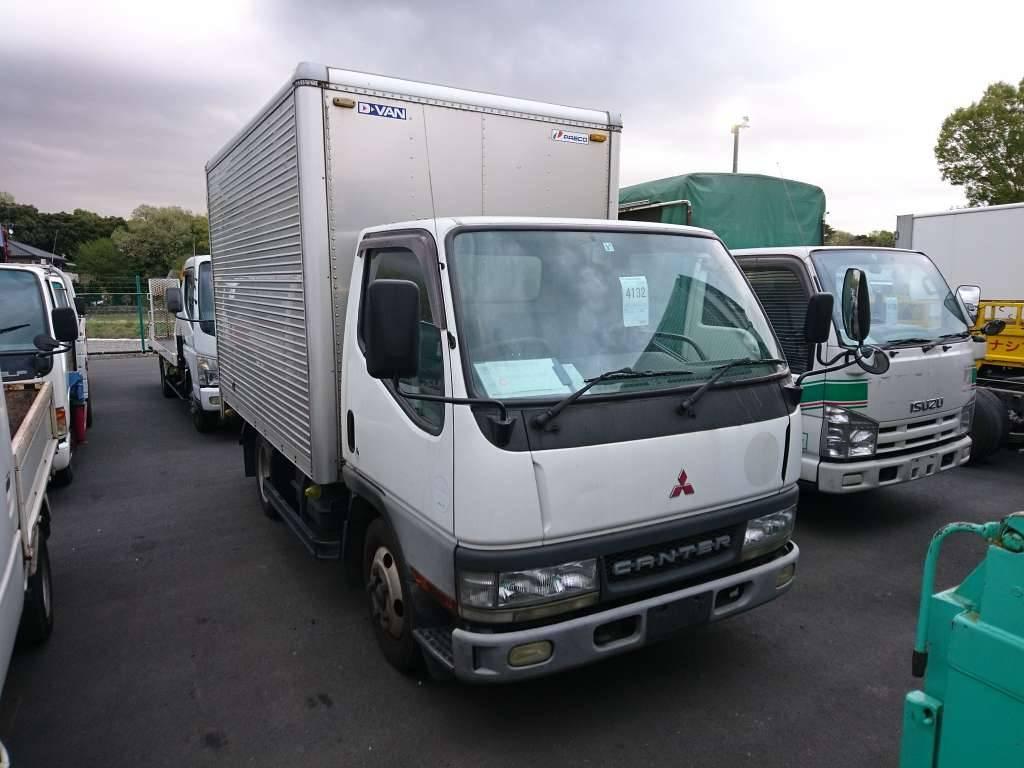 Used 2002 MT Mitsubishi Canter FE51CB