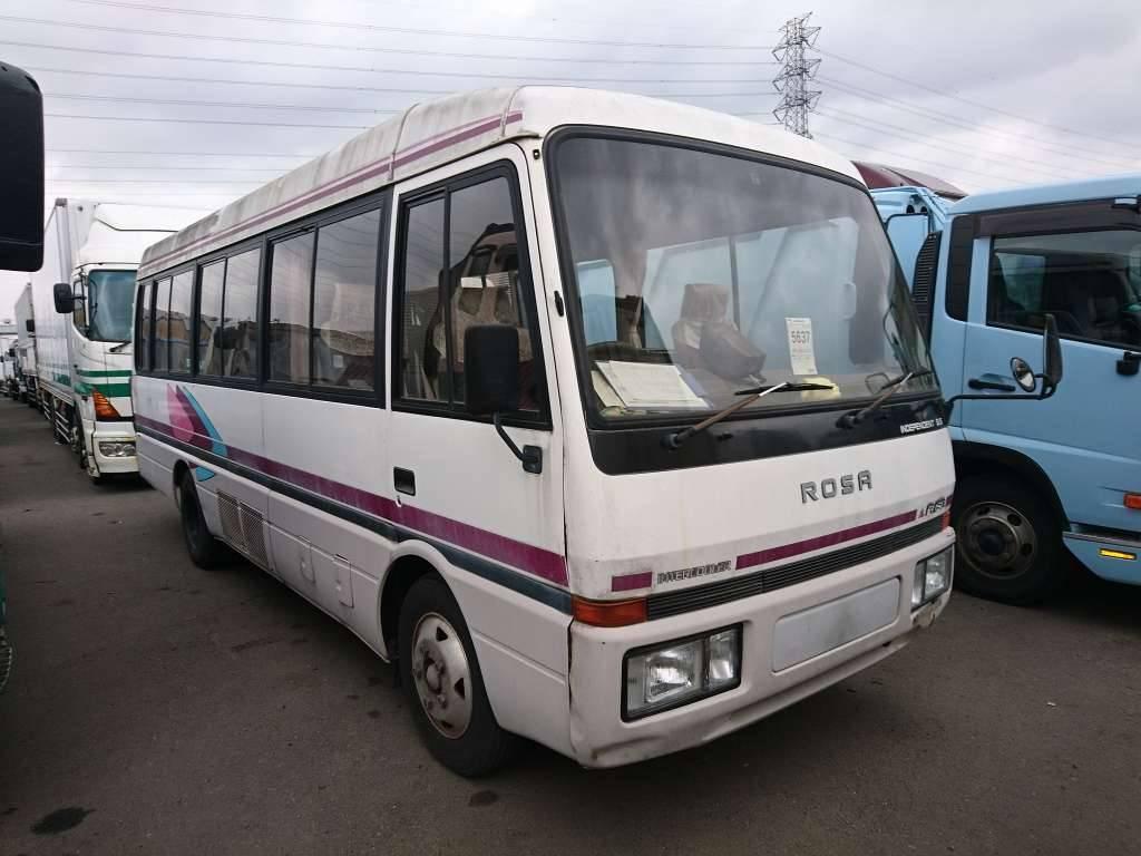 Used 1992 MT Mitsubishi Fuso Rosa Bus BE449F