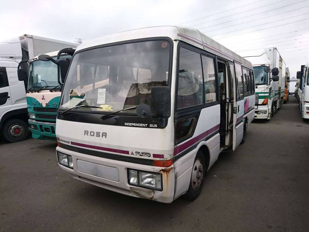 Used 1992 MT Mitsubishi Fuso Rosa Bus BE449F Image[2]