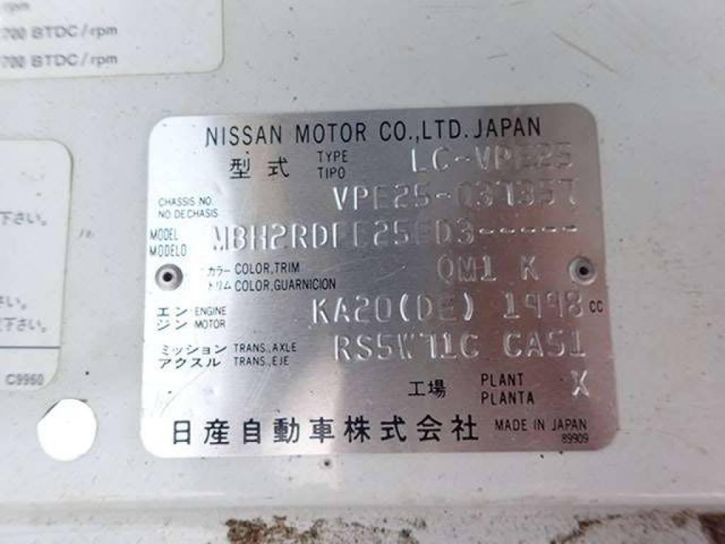 Used 2004 MT Nissan Caravan Van VPE25 Image[22]