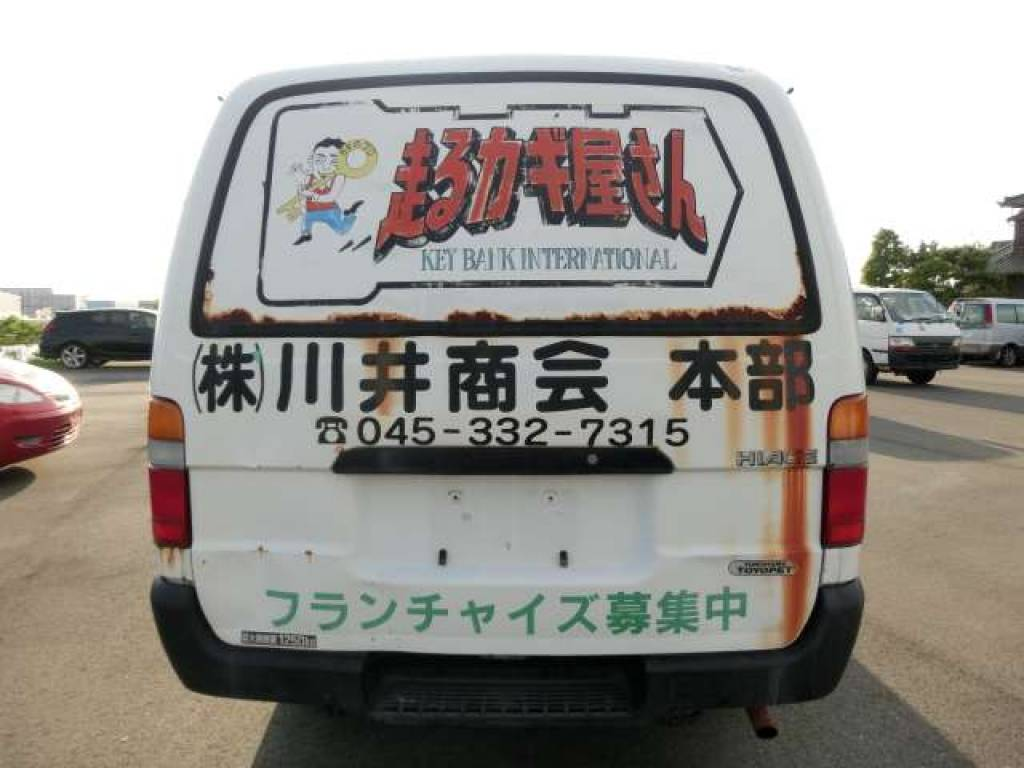 Used 2000 AT Toyota Hiace Van RZH112V Image[2]