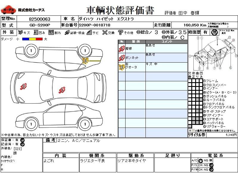 Used 1999 MT Daihatsu Hijet Truck GD-S200P Image[3]