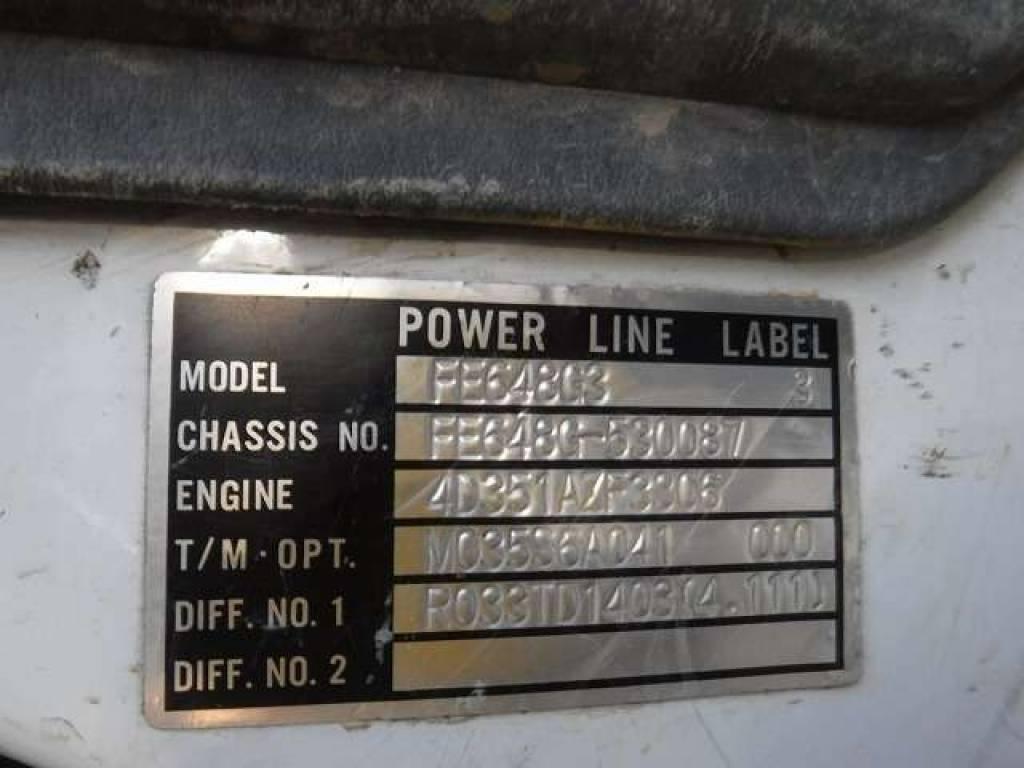 Used 1997 MT Mitsubishi Canter FE648G Image[20]