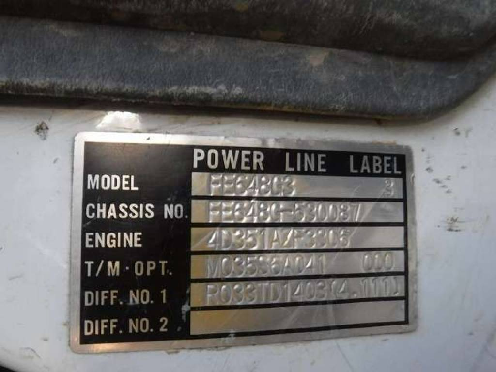 Used 1997 MT Mitsubishi Canter FE648G Image[20]