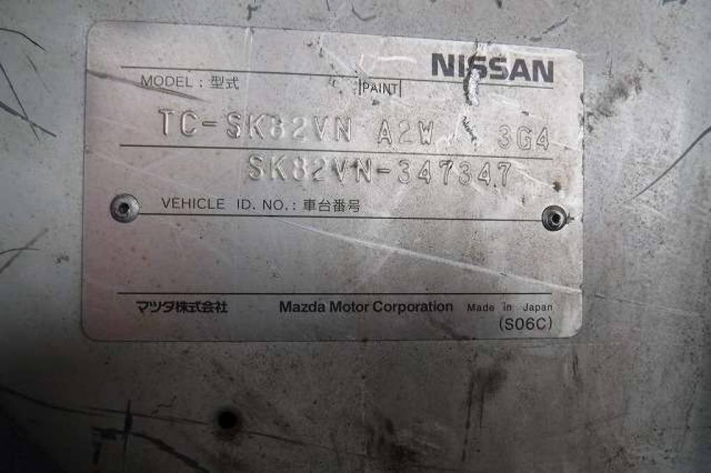 Used 2007 MT Nissan Vanette Van SK82VN Image[16]