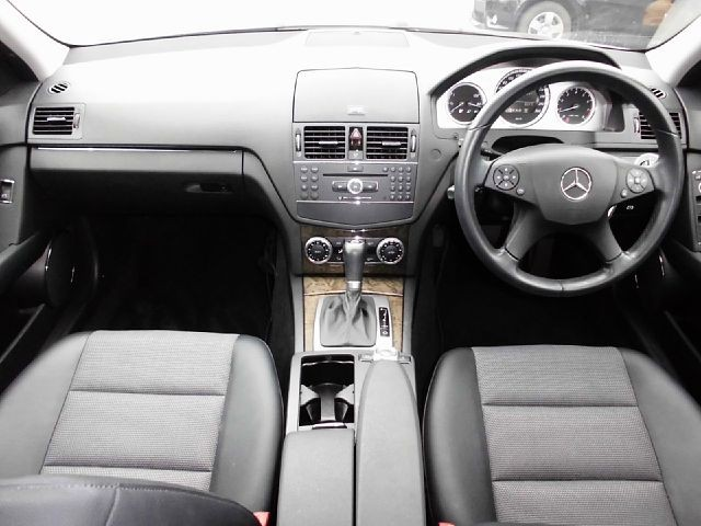 Used 2008 AT Mercedes Benz C-Class DBA-204241 Image[1]