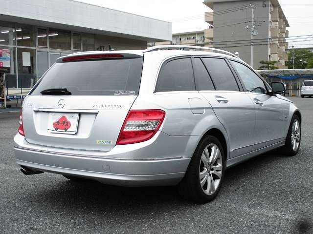 Used 2008 AT Mercedes Benz C-Class DBA-204241 Image[2]