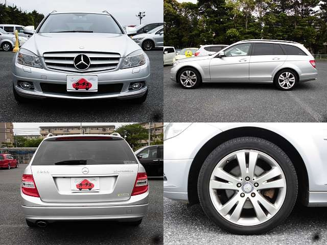 Used 2008 AT Mercedes Benz C-Class DBA-204241 Image[8]