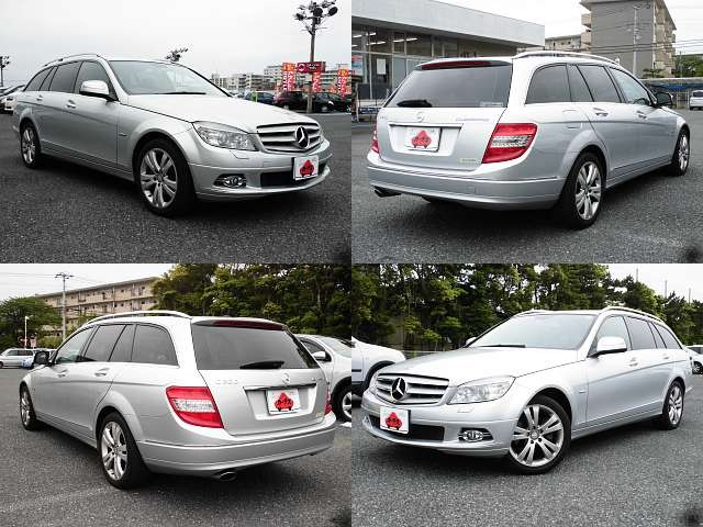 Used 2008 AT Mercedes Benz C-Class DBA-204241 Image[9]
