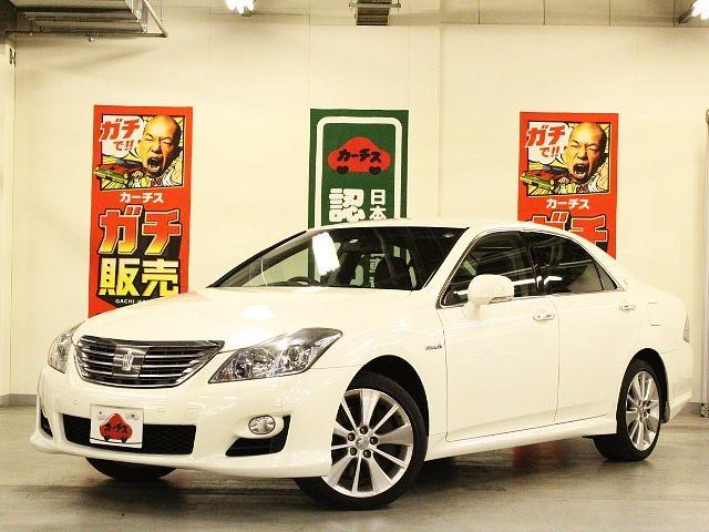 Used 2008 CVT Toyota Crown Hybrid DAA-GWS204