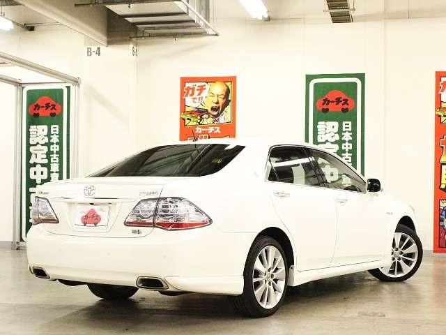 Used 2008 CVT Toyota Crown Hybrid DAA-GWS204 Image[2]