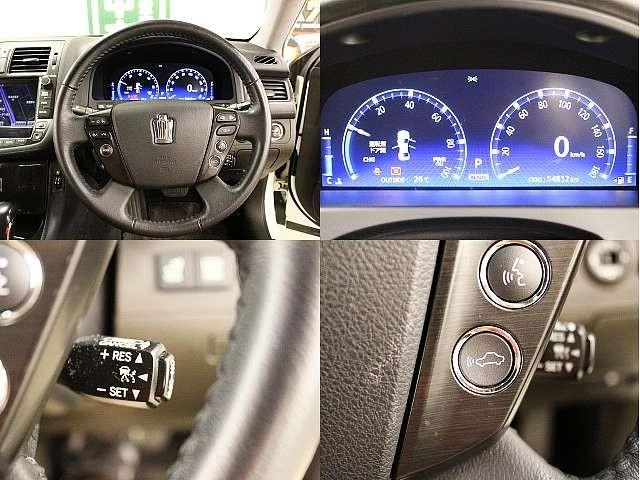 Used 2008 CVT Toyota Crown Hybrid DAA-GWS204 Image[4]