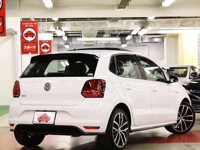 Used 2015 AT Volkswagen Polo ABA-6RDAJ Image[2]