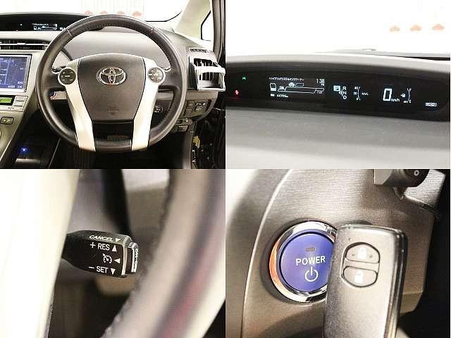 Used 2014 CVT Toyota Prius DAA-ZVW30 Image[4]