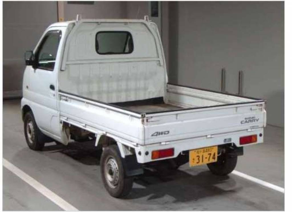 Used 2000 AT Suzuki Carry Truck DB52T Image[3]
