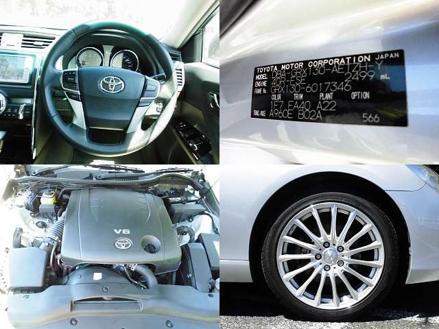 Used 2010 AT Toyota Mark X DBA-GRX130 Image[8]