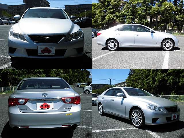 Used 2010 AT Toyota Mark X DBA-GRX130 Image[9]