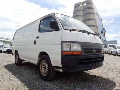 Toyota Hiace Van 2001 from Japan