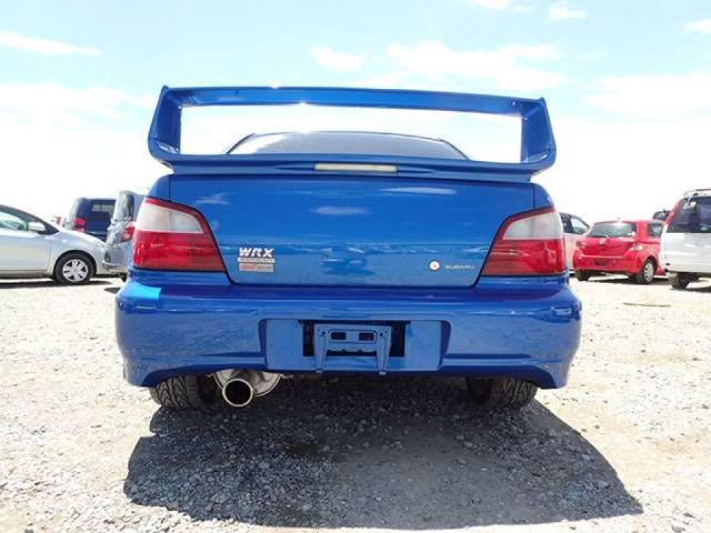 Used 2001 MT Subaru Impreza GDB Image[2]