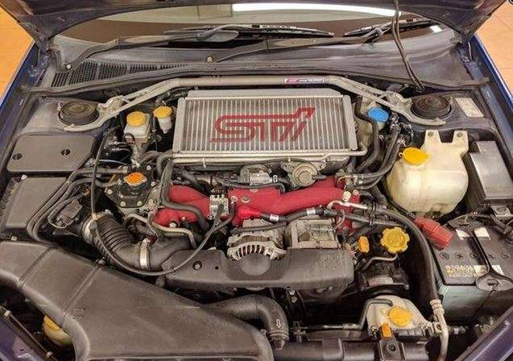 Used 2001 MT Subaru Impreza GDB Image[24]