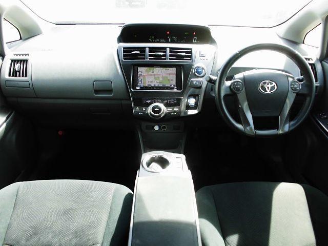 Used 2013 CVT Toyota Prius alpha DAA-ZVW41W Image[1]