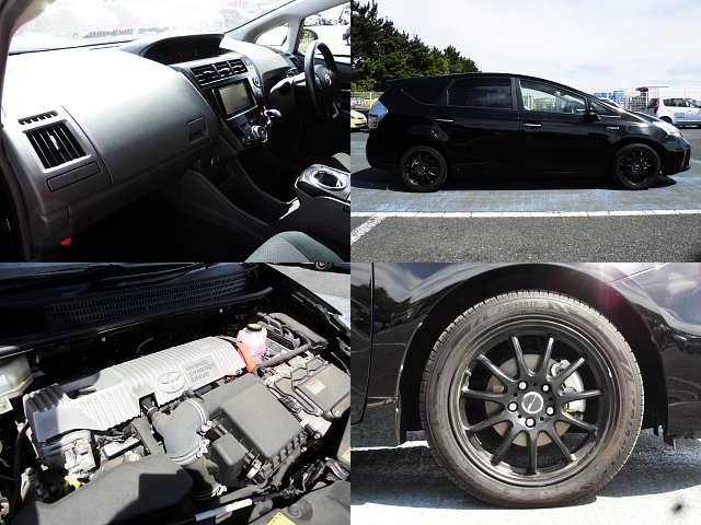 Used 2013 CVT Toyota Prius alpha DAA-ZVW41W Image[8]