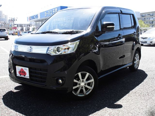 Used 2014 CVT Suzuki Wagon R DBA-MH34S